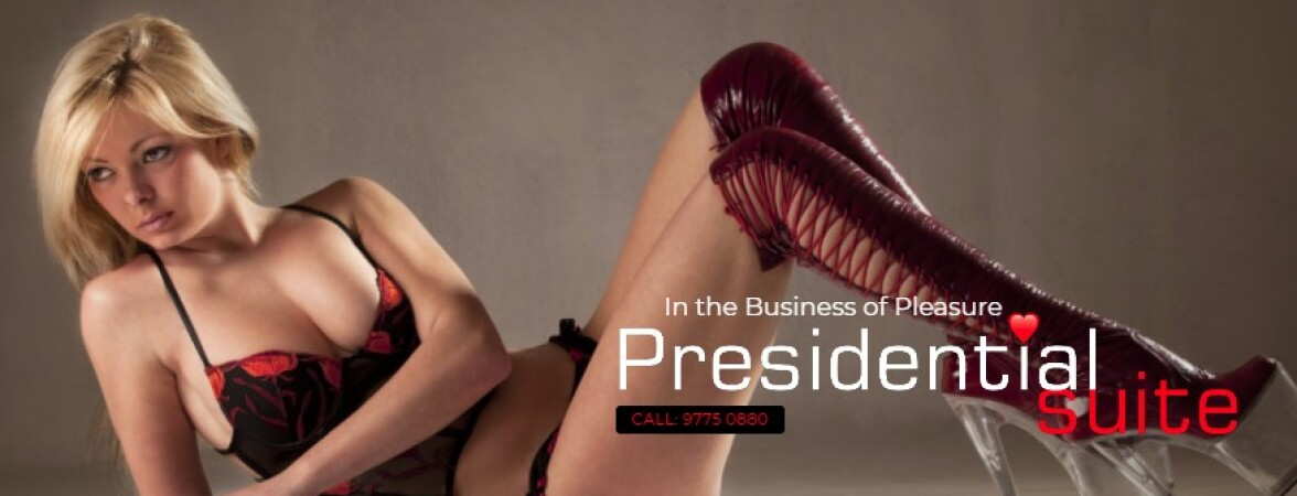 Australia Escorts-Presidential Suite-4 banner ads displayed at the bottom of homepage--Melbourne-escorts--Escorts