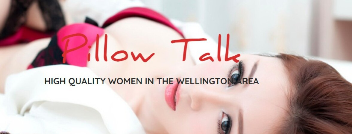 New Zealand Escorts-Pillow Talk-4 banner ads displayed at the bottom of homepage--Wellington-escorts--Escorts