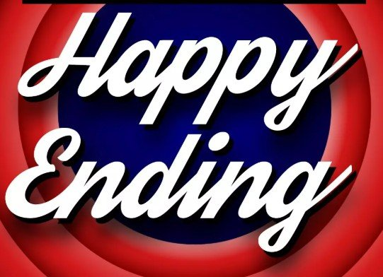 A happy ending is an amazing experience